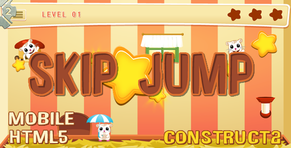 Skip Jump (C2 + C3 + HTML) Game!            Nulled