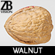 Walnut 006 - 3DOcean Item for Sale
