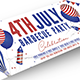 4TH July Facebook Cover - GraphicRiver Item for Sale