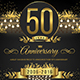 String Lights Anniversary Invitation - GraphicRiver Item for Sale