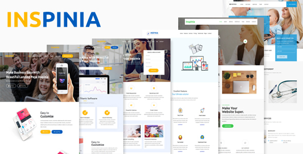 Inspinia - Complete Landing Page Solution