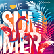 We Love Summer Party Flyer - GraphicRiver Item for Sale