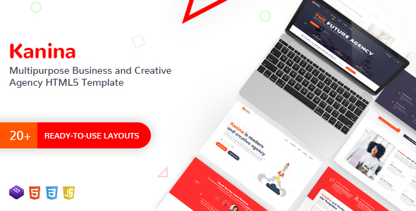 Kanina - Multipurpose Business and Creative Agency HTML Template