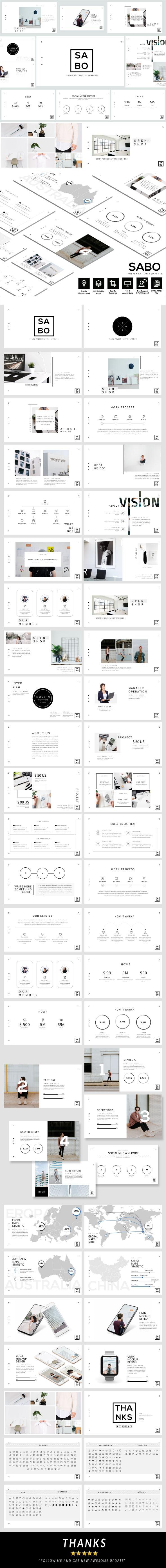 Sabo - Business Google Slide Template - Google Slides Presentation Templates