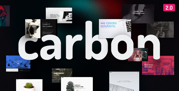 Carbon - Clean Minimal Multipurpose WordPress Theme - Creative WordPress