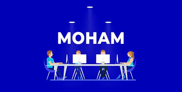 Moham - Creative PSD Templates