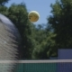 Tennis Ball Flying Over Net - VideoHive Item for Sale