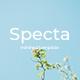 Specta Minimal Google Slide Template - GraphicRiver Item for Sale