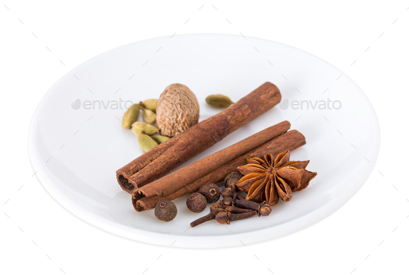 Fragrant spices. - Stock Photo - Images
