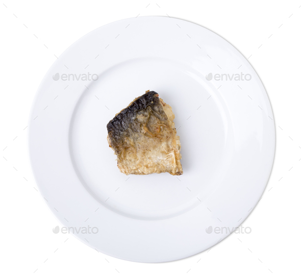 Fried fish. - Stock Photo - Images