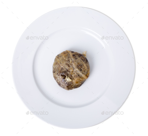 Oven baked liver cutlets. - Stock Photo - Images
