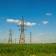 Electric Power Transmission Towers - VideoHive Item for Sale