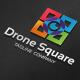 Drone Camera Square Logo