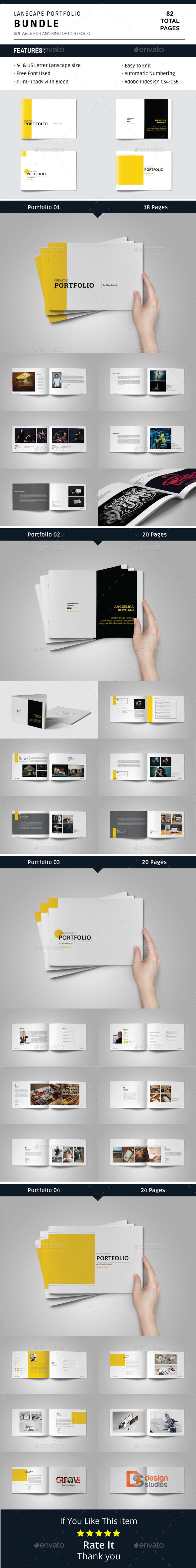 Lanscape Portfolio Bundle - Portfolio Brochures