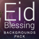 Blessing Eid Backgrounds pack - VideoHive Item for Sale