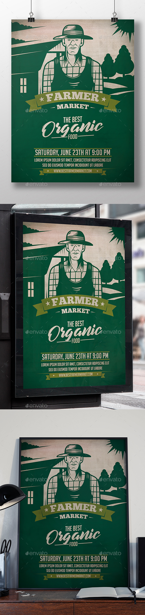 Farmer Market Flyer Template - Events Flyers