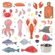 Seafood Vectors