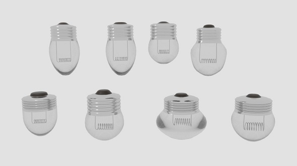 Mini Bulb Pack - 3DOcean Item for Sale