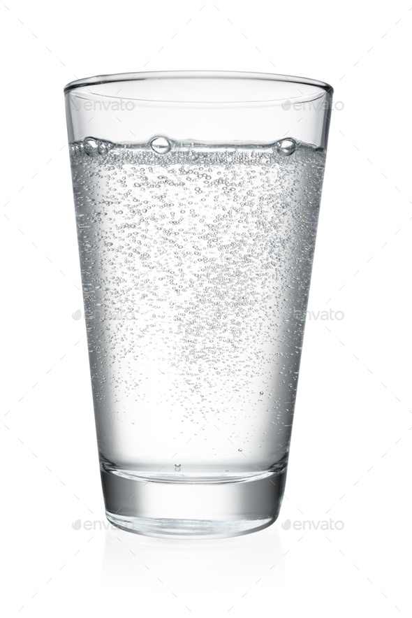 Glass of water isolated - Stock Photo - Images
