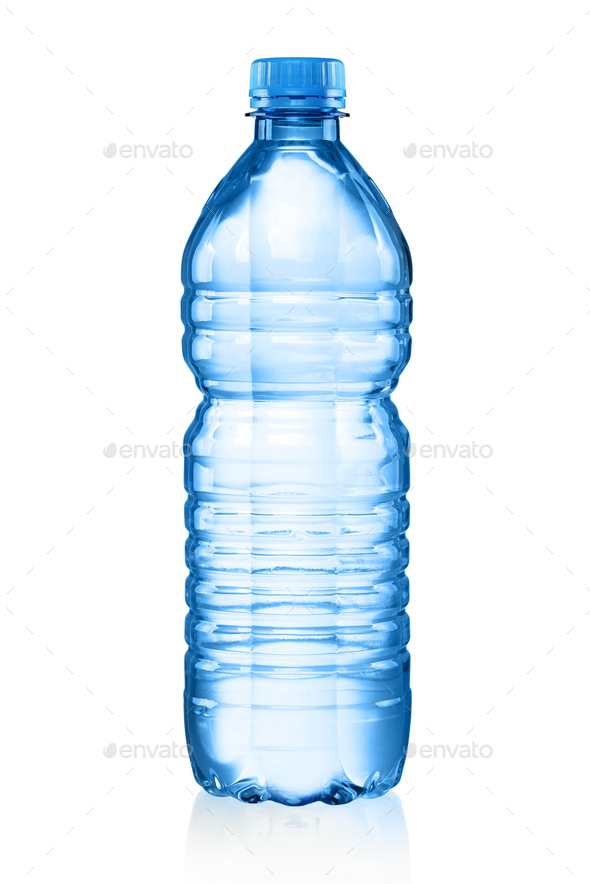 Plastic bottle with water - Stock Photo - Images