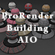 450 x ProRender PBR Building Materials S01 AIO for Cinema 4D