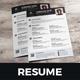 Resume & Cover Letter Design v6 - GraphicRiver Item for Sale