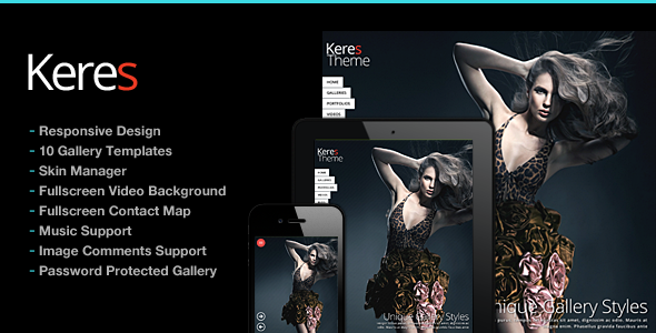 Photography WordPress | Keres for Photography - Photography Creative