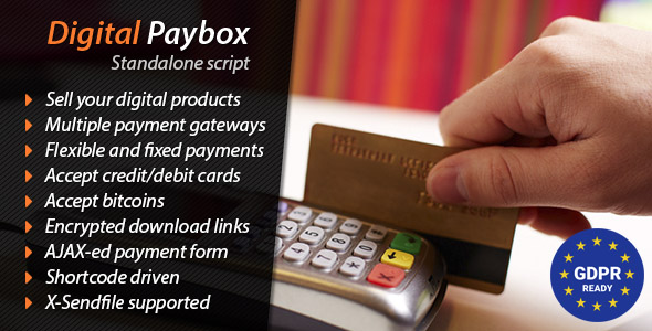 Digital Paybox - Standalone Script - CodeCanyon Item for Sale