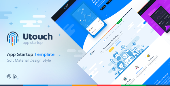 Image of Utouch Startup - Multi-Purpose Business Technology and Digital Marketing Joomla Template
