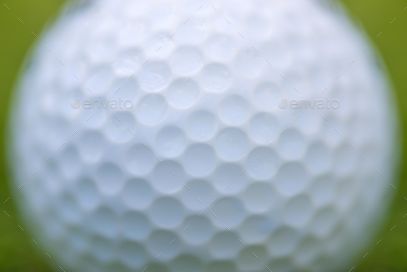 Golf ball texture background - Stock Photo - Images