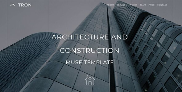 Tron_Architecture, Interior & Construction Muse Template