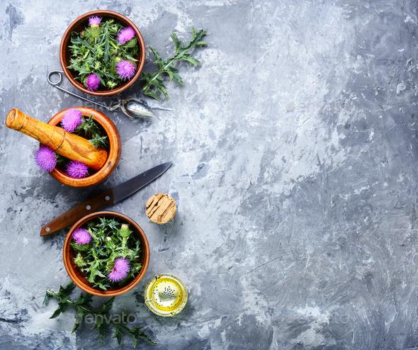 Natural herbal medicine - Stock Photo - Images