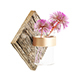 Wall Hanging Flask with Flower 3D Model