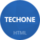 Techone - Multipurpose HTML Template - ThemeForest Item for Sale