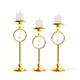 Golden Candlesticks 3D Model