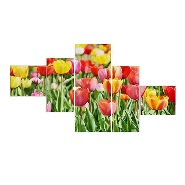 Flower Wall Pictures 3D Model - 3DOcean Item for Sale