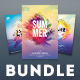 Summer Flyer Bundle Vol.18 - GraphicRiver Item for Sale