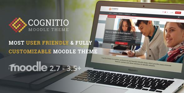 Cognitio | Premium Moodle Theme - Moodle CMS Themes