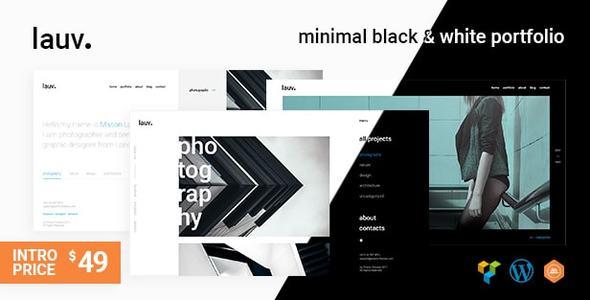 Image of Lauv | A Contemporary Portfolio WordPress Theme
