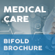 Medical Care Bifold / Halffold Brochure - GraphicRiver Item for Sale