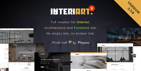 The 20+ Best Interior Design WordPress Themes 2019 13