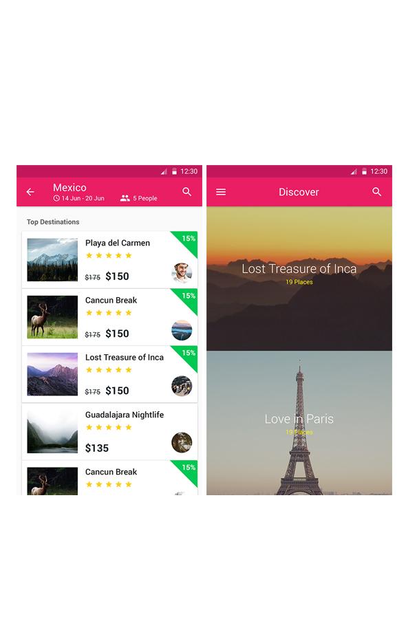 Travelion - Travel & Vacation UI KIT