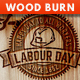 Wood Burn Effect Photoshop Action