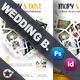 Wedding Event Bundle Templates - GraphicRiver Item for Sale