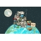 Poor Hungry Astronaut on Planet Earth - GraphicRiver Item for Sale