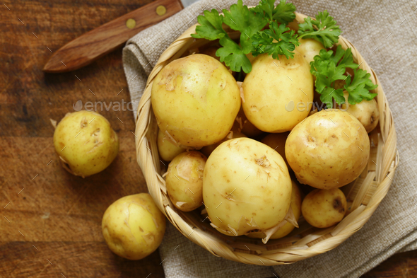 Raw Potatoes - Stock Photo - Images