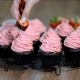 Chocolate Cupcake with Strawberry Cream - VideoHive Item for Sale