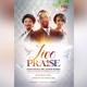 Live Praise Flyer Template