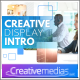 Creative Display Intro - After Effects Template - VideoHive Item for Sale
