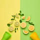 Citrus Fresh Fruit. Vegan Food Concept. Minimal - PhotoDune Item for Sale